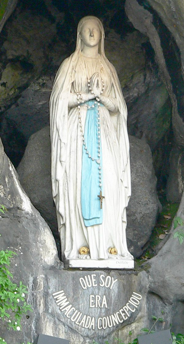 The National Shrine Grotto of Lourdes