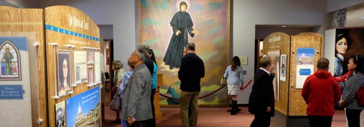 40 Years a Saint Exhibit